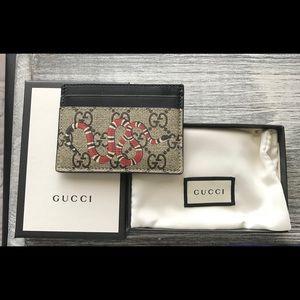 Gucci Kingsnake Cardholder